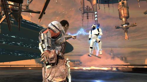 H Δύναμη στο Force Unleashed σας λύνει τα χέρια...κυριολεκτικά