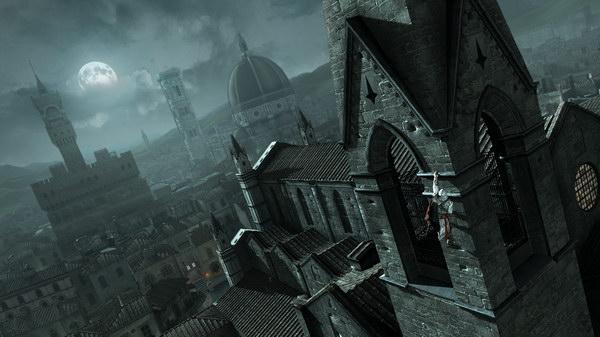 Μόνο το Assassin's Creed II μπορεί να μας προσφέρει τέτοιες μαγευτικές σκηνές.