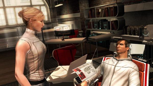 Η Lucy και ο Desmond δένονται ακόμα περισσότερο, όμως το φιλί λογικά θα το δούμε στο Assassin's Creed III...