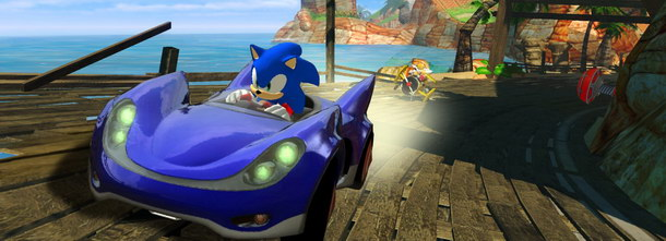 sonic sega racing news v2