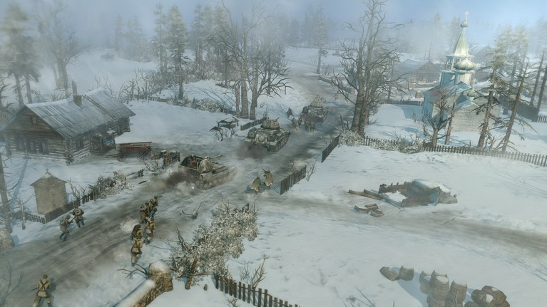 Το περιβάλλον φτιάχνει την ατμόσφαιρα που αξίζει να ζήσει κάθε παίκτης του CoH2.