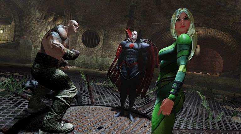 Το (μέτριο) καστ των κακών: Blockbuster, Sinister, Vertigo.