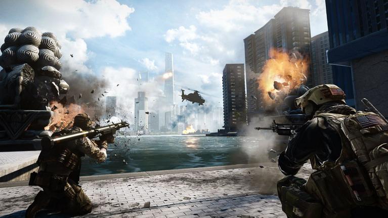 Κανένα άλλο παιχνίδι δεν έχει τη δράση του Battlefield 4.