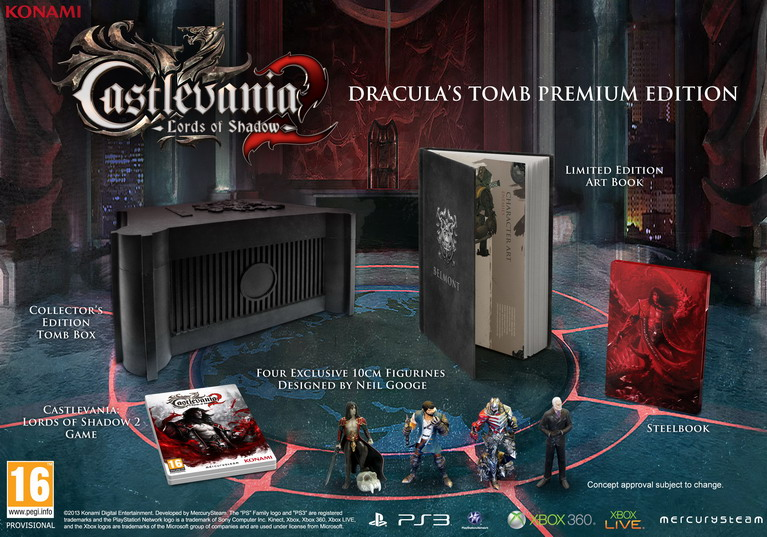 castlevania lords of shadow 2 tomb edition