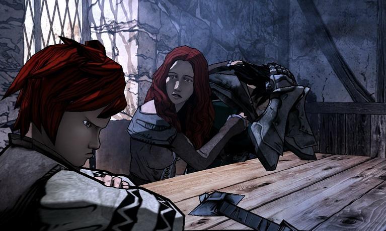 Οι cutscenes του παιχνιδιού μοιάζουν σα να είναι ζωγραφισμένες στο χέρι.