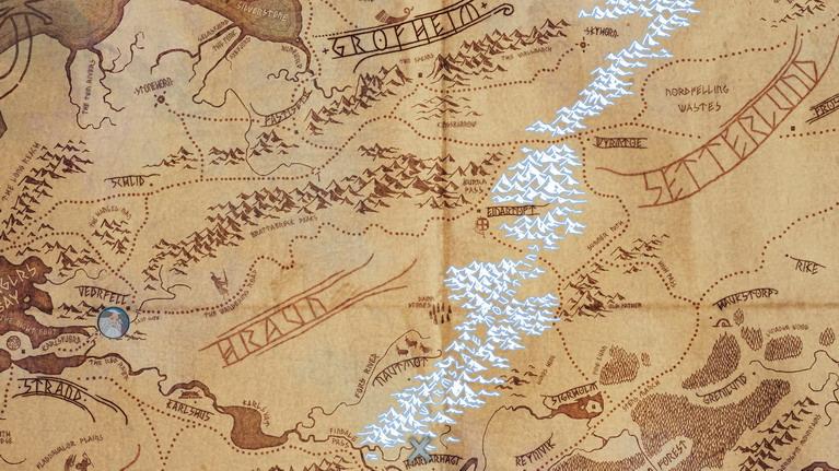 Ο εκπληκτικός χάρτης του παιχνιδιου.
