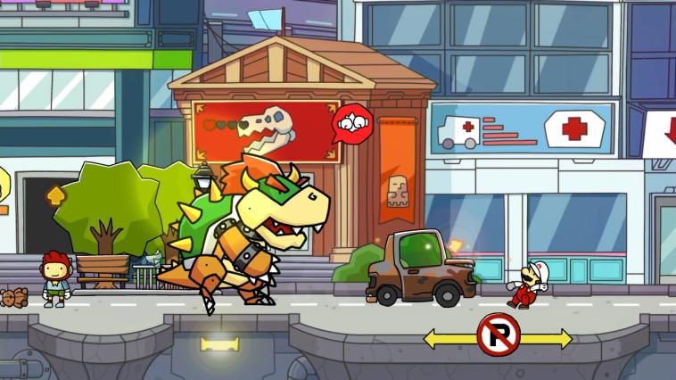 Η έκδοση του Wii U περιλαμβάνει και χαρακτήρες της Nintendo.