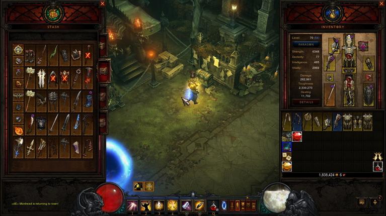 Ξέρεις ότι έχεις παίξει αρκετό Diablo όταν αρχίζεις να κάνεις συλλογή από legendary.