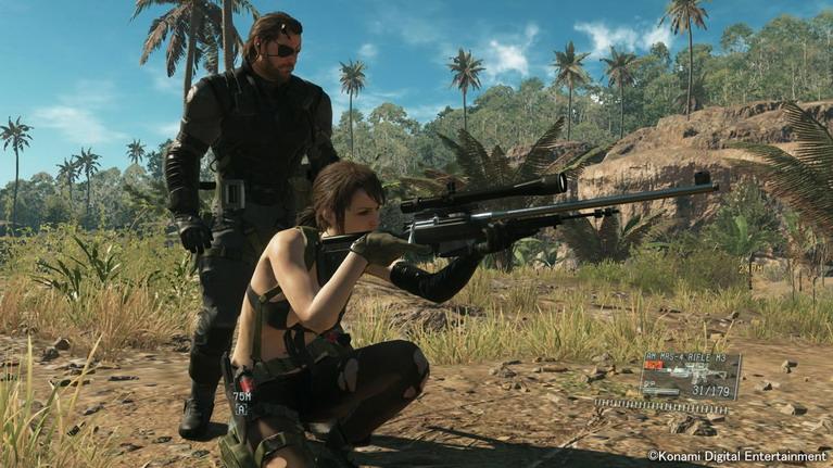 H Quiet είναι ο πιο... πληθωρικός χαρακτήρας του παιχνιδιού.