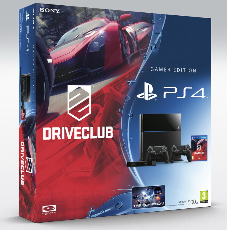 ps4 camera driveclub bundle