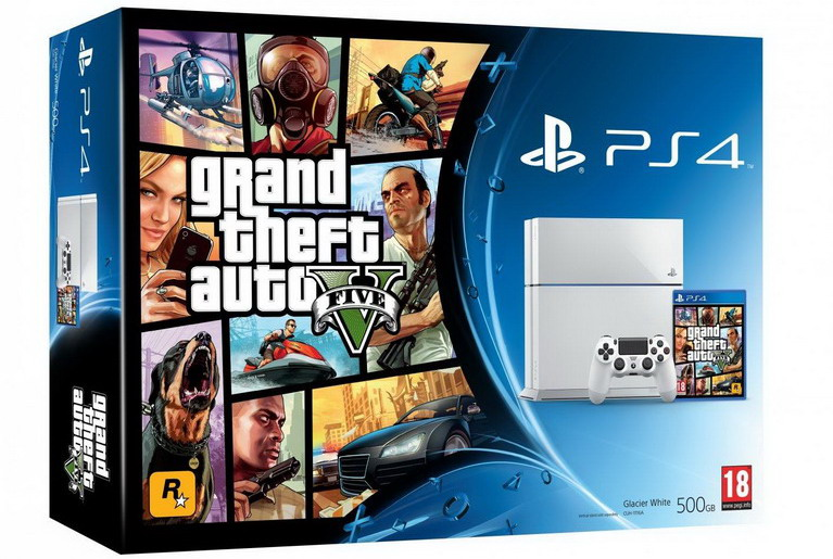 ps4 grand theft auto 5 bundle