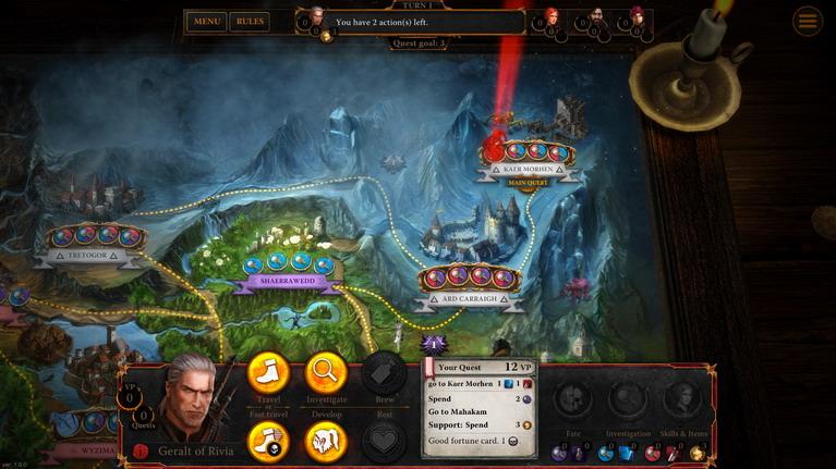 Ετοιμαστείτε για The Witcher 3 με το The Witcher Adventure Game Witcher-adventure-game