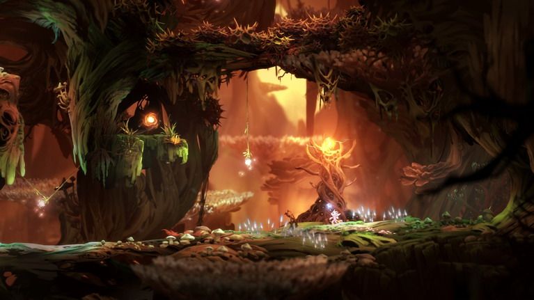 O κόσμος του παιχνιδιού είναι πανέμορφος.