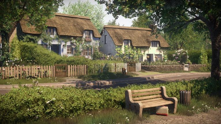 Το Yaughton είναι ένα παραδοσιακό αγγλικό χωριό.