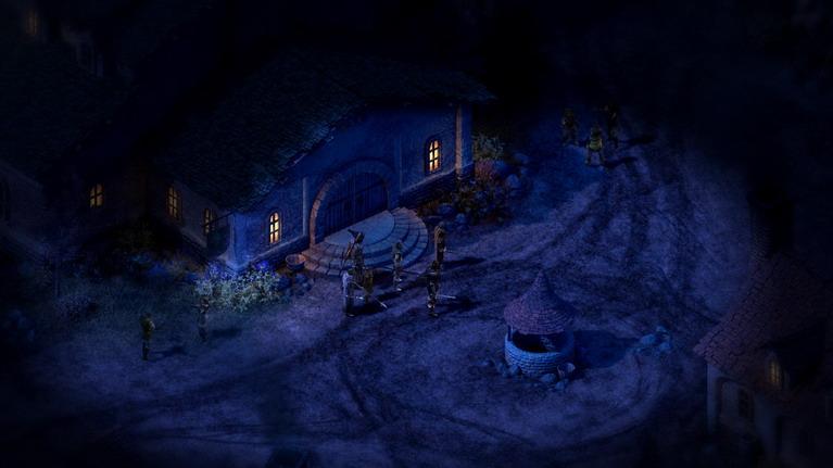 Νύχτα έξω από το... καπηλειό.