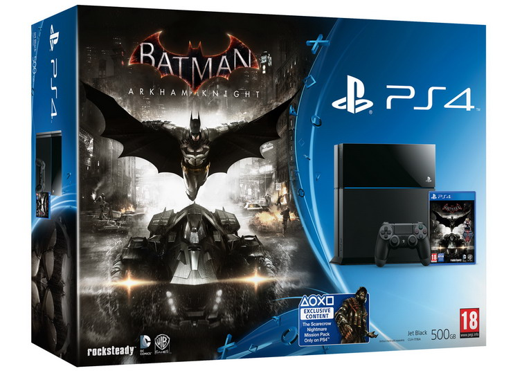 ps4 batman arkham knight bundle