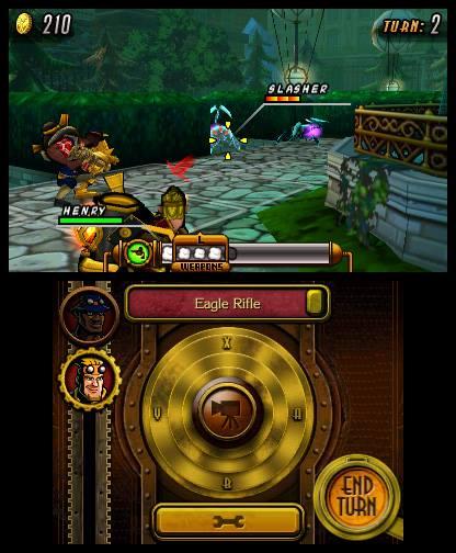 Το παιχνίδι είναι τακτικής, με την κάμερα πίσω από τον ώμο του χαρακτήρα.
