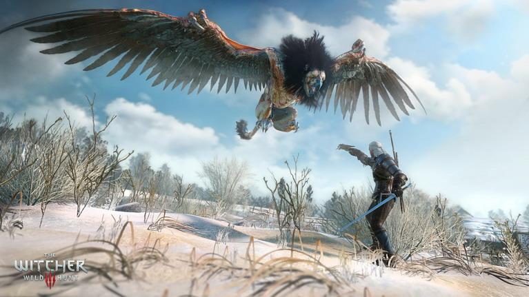 Geralt εναντίον γύπα.