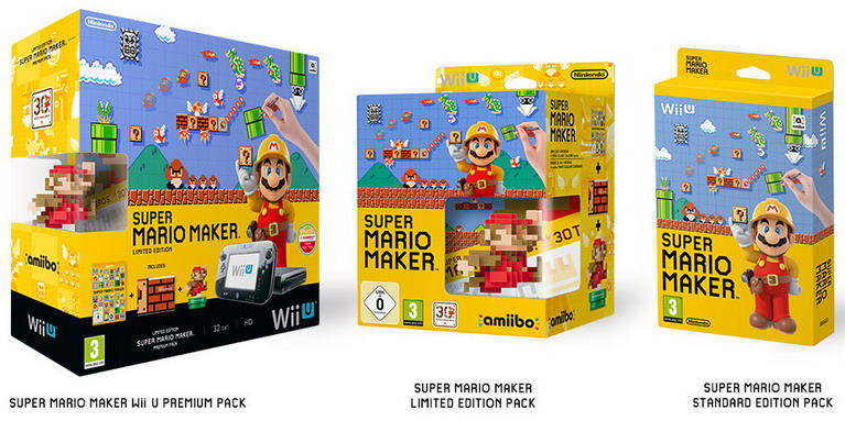 wii u mario maker bundle