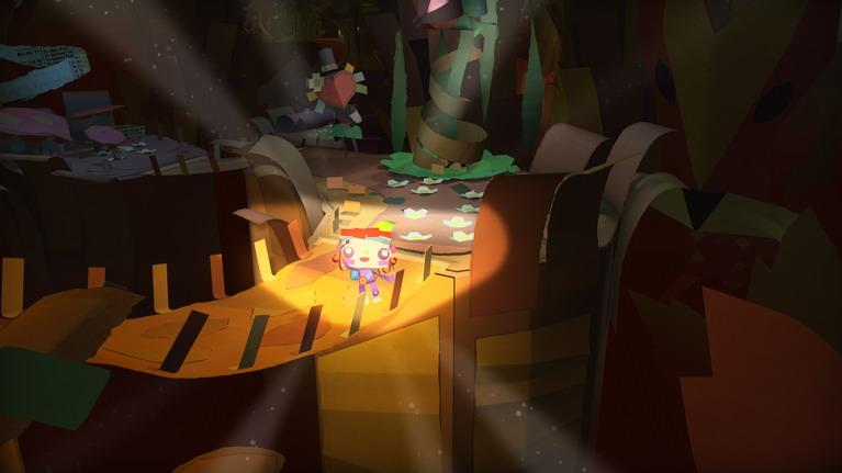 Με τις κατάλληλες κινήσεις, μπορείτε να φωτίζετε τον κόσμο του παιχνιδιού.