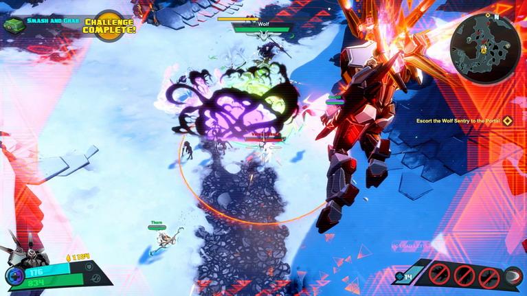 Τα skills των χαρακτήρων είναι εντυπωσιακά στο πεδίο της μάχης.