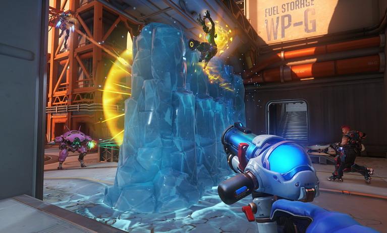 Ο τοίχος της Mei είναι από τα πιο χρήσιμα skills για όλη την ομάδα.