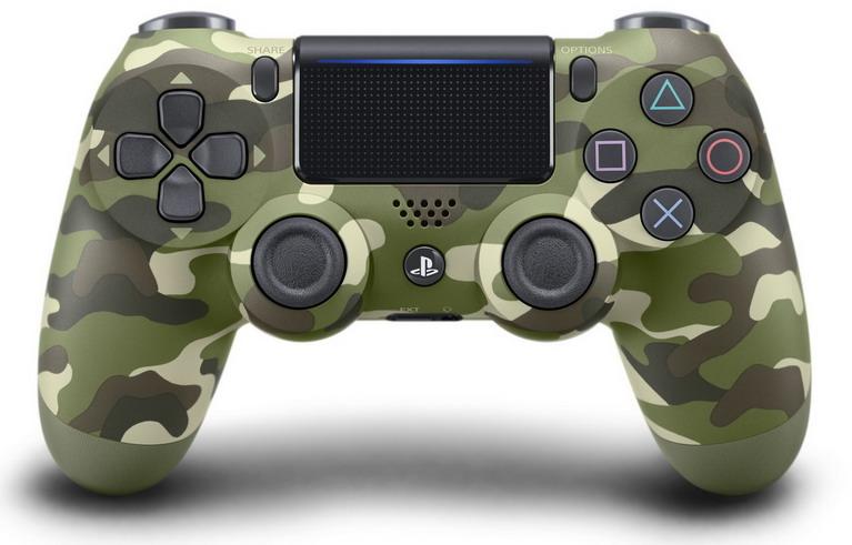 green-camouflage-dualshock-4