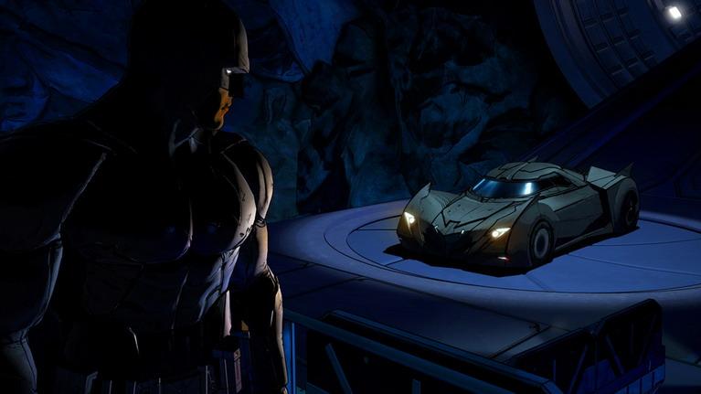 Δυστυχώς το batmobile δεν χρησιμοποιείται στο παιχνίδι.