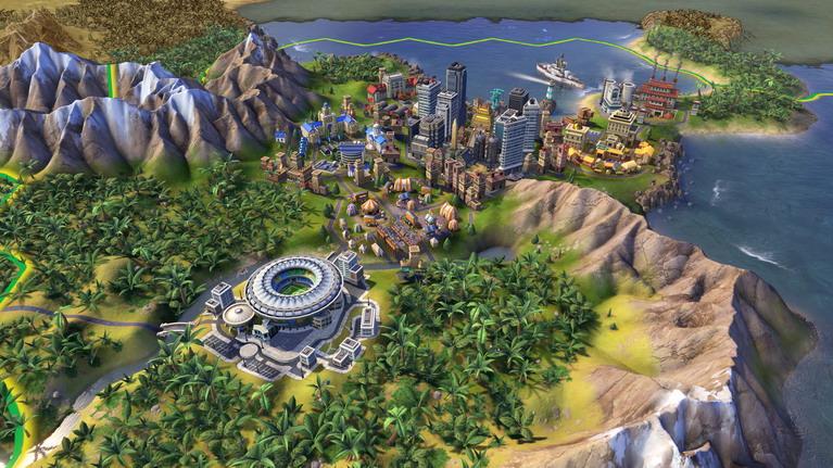 Κάτι σαν το Ρίο ντε Τζανέιρο, μαζί με Μαρακανά, τροπικό δάσος και βουνά δίπλα στη θάλασσα.