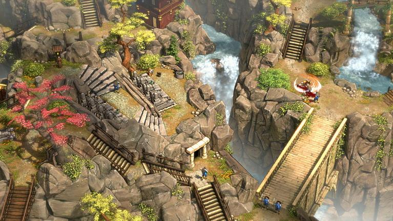 Το όρος Tsuru είναι ίσως το πιο καλοσχεδιασμένο επίπεδο του παιχνιδιού.
