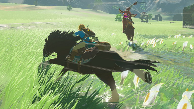 Μια βόλτα με άλογο στα λιβάδια της Hyrule, δεν απογοητεύει ποτέ!