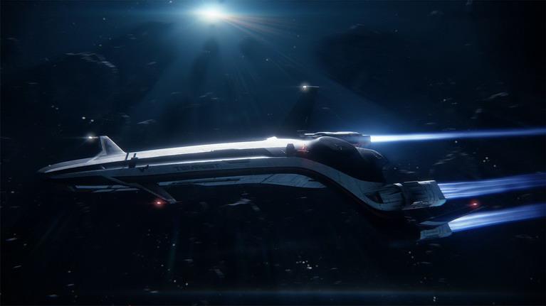 Το διαστημικό σκάφος Tempest σας μεταφέρει στα πέρατα του γαλαξία.