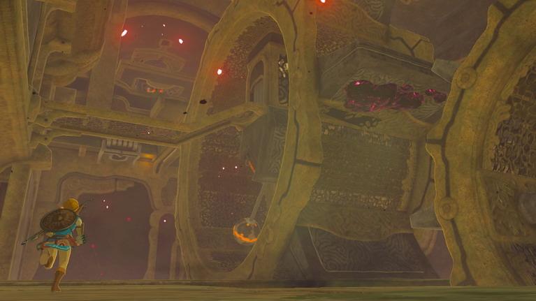 Τα dungeons του παιχνιδιού είναι τα μεγάλα divine beasts.