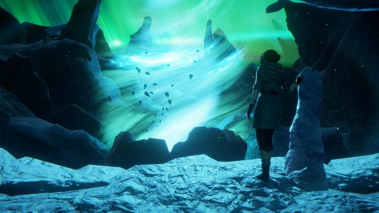Ο εντυπωσιακός κόσμος Storytime, όπου βρίσκεται πνευματικά η Zoe μετά τα γεγονότα του Dreamfall.