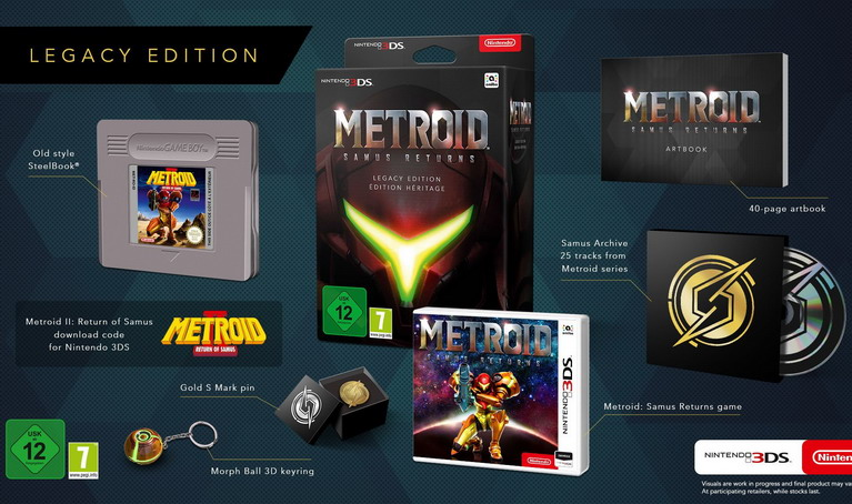 metroid samus returns legacy edition