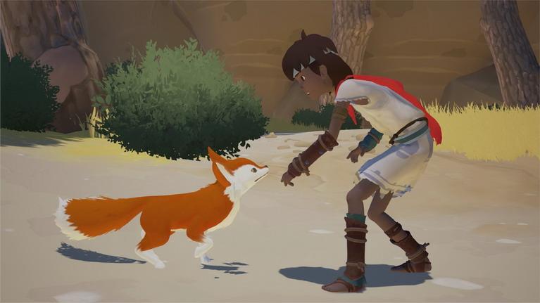 Η χαριτωμένη αλεπού σας καθοδηγεί στον κόσμο του παιχνιδιού.