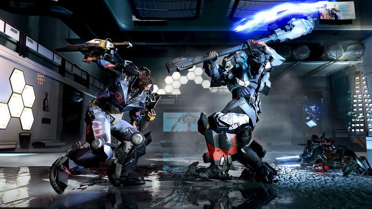 Οι ρομποτικές πανοπλίες θυμίζουν κάτι από Warhammer.