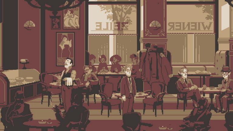 Τυπικό καφέ της εποχής.