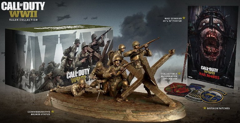 call of duty ww2 valor collection
