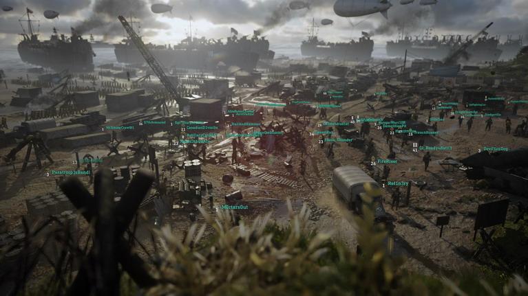Μια πανοραμική άποψη του Headquarters.