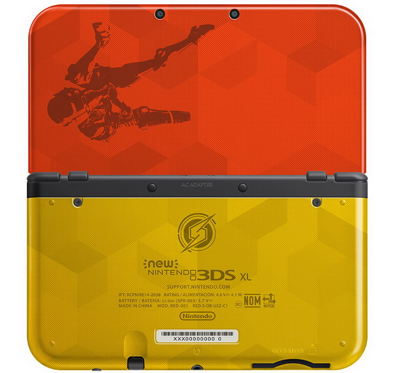 new 3ds xl samus edition
