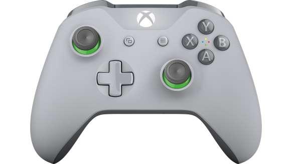 xbox controller green grey