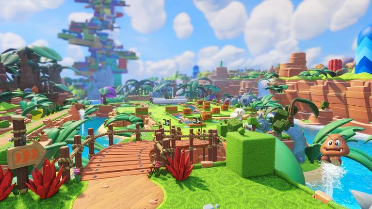 Μοιάζει με καθαρόαιμο παιχνίδι της Nintendo, παρόλο που είναι από τη Ubisoft.