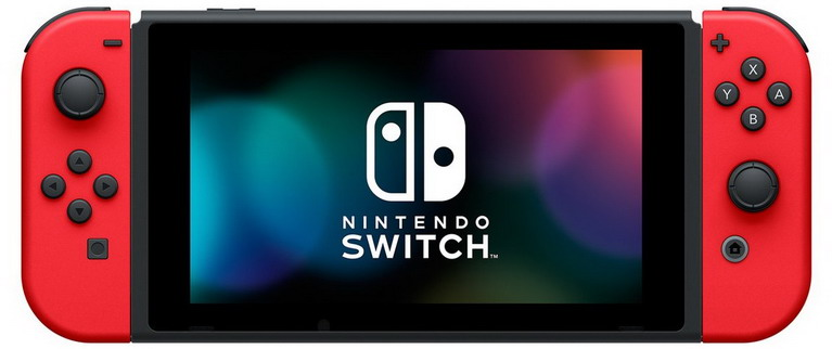 switch red joy-con