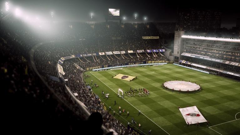Ο τομέας της παρουσίασης είναι κορυφαίος, όπως συνήθως στα FIFA.