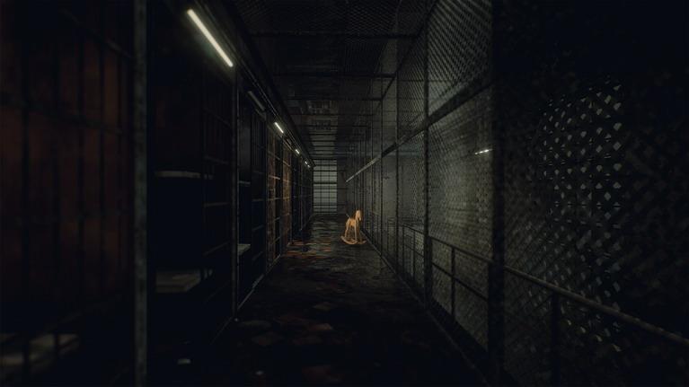 Ένας τυπικός διάδρομος σωφρονιστικού ιδρύματος.