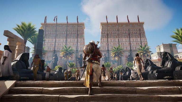 Ο εντυπωσιακός ναός του θεού Πτα στη Μέμφιδα.