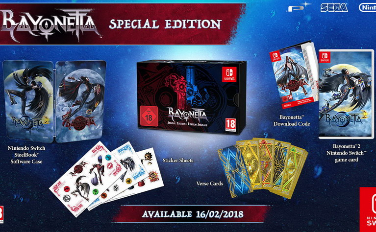 bayonetta switch special edition