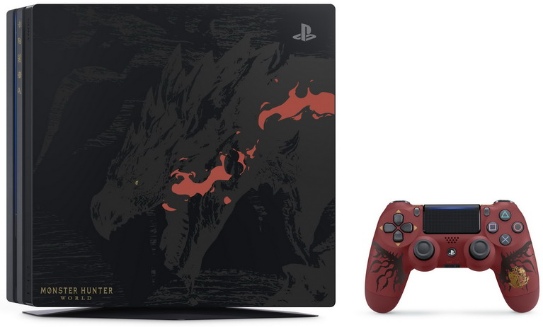 ps4 pro monster hunter world bundle