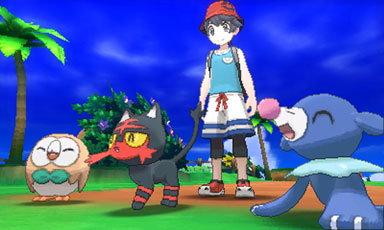 Επιλέγοντας το πρώτο σας Pokemon.